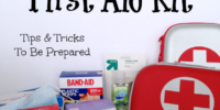 How to stock a first aid kit. Tips & Tricks to be prepared.