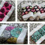 Giveaway | Zoe's Couture Boutique – Mix & Match set of 4 Burp Cloths