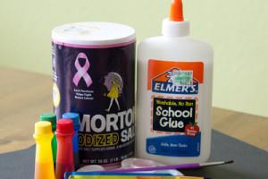 Salt Painting | Fort Worth Moms Blog