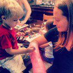 The Joys of Parenting… with a Broken Limb