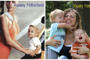 Not every mother has a stylist, makeup artist, and full time nanny. Then again, not every mother wants to.
