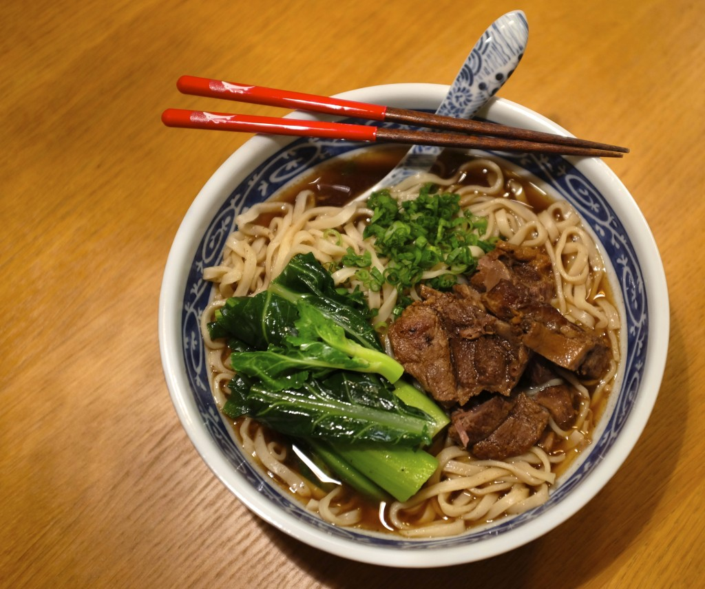 Family Recipes :: Chinese Beef Noodle Soup {Tokyo Cafe}