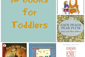 10 Books for Toddlers