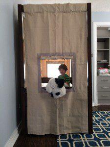 Jack in his big boy bed!
