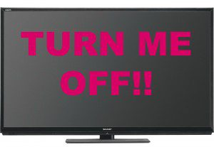 turn me off tv