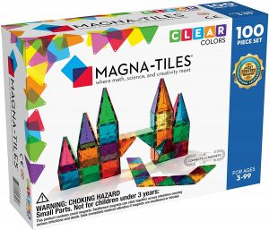 Magnatiles are a great toy for kids.