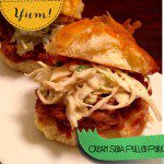 The Versatile Chef: Cream Soda Pulled Pork Sliders