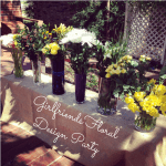 Girlfriends Floral Design Party