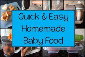 baby food header