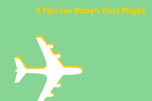 baby on board of plane