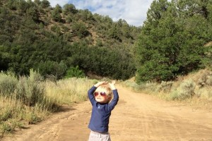 boy on road with sensory processing disorder