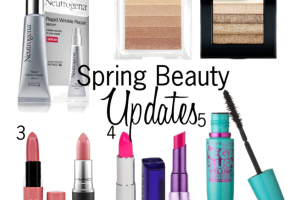 Five Updates for spring beauty