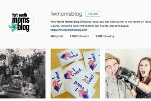 Fort worth Moms Blog Instagram