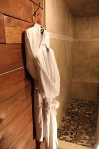 bath robe spa