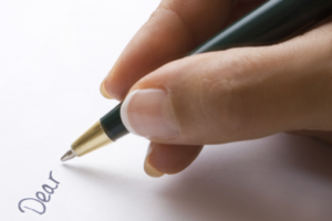 hand, writing, close up