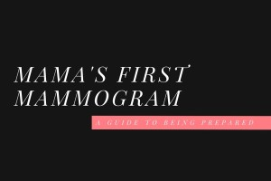 first, mammogram, black, pink