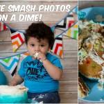DIY Cake Smash Photos on a Dime