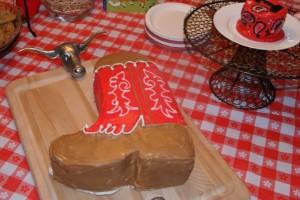 Boot Cake