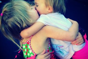 Annie's post 3, hugging