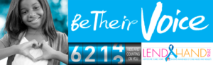 Be Their Voice Banner