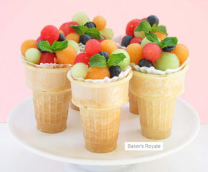 Blackmon Mooring Fruit Ice Cream Cones