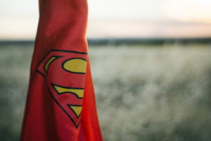 superman cape