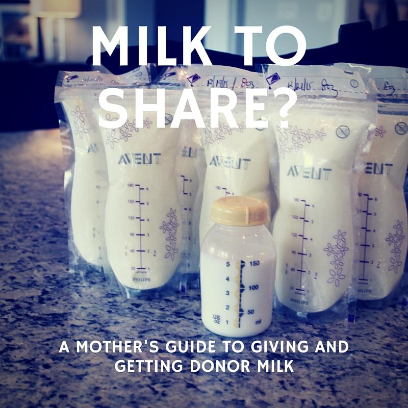 breastmilk donor milk