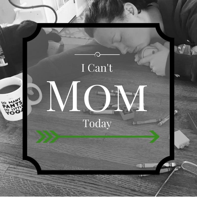 mom sleeping text
