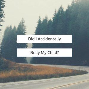 Parental Bullying, Bully