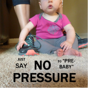 "Before becoming a first-time mom, I was a marathoner and endurance runner. some folks in my social circle seem to expect that I never stopped. But the truth is my ""pre-baby"" self is gone, and with her a lot of pre-baby habits and hobbies."