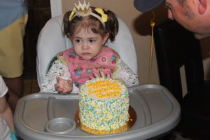 toddler birthday cake