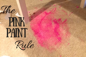 The Pink Paint Rule