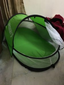 Baby bed for travel