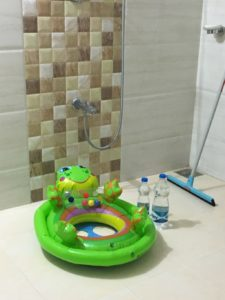 Overseas baby bath