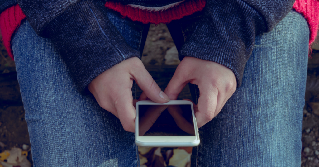 practice cell phone safety to keep your child from going missing