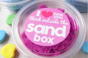 valentines sand