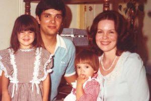 In my mom's lap, 1978