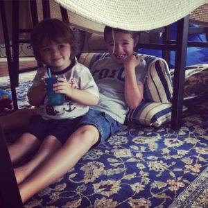 Boys Indoor Fort