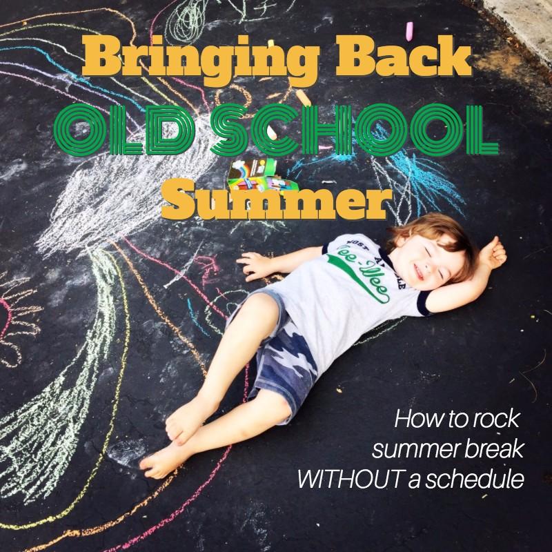 Summer Chalk Text