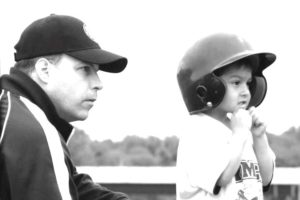 a boy and his coach