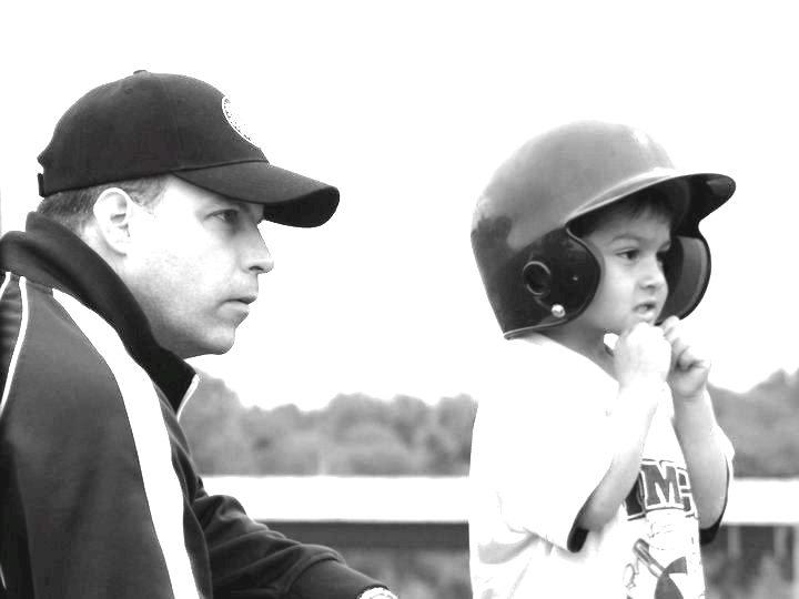 a boy and his coach
