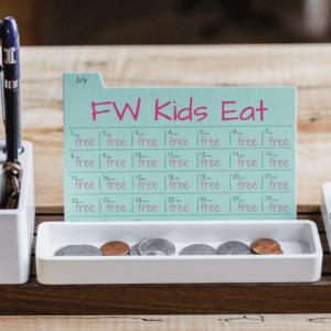 Kids Eat Free Calendar