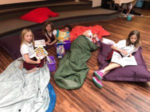 Girls Reading - Hill School