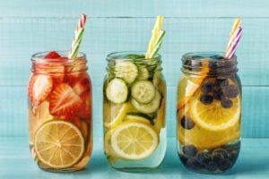Fancy fruit water