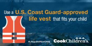 Cook Children's Life Vest