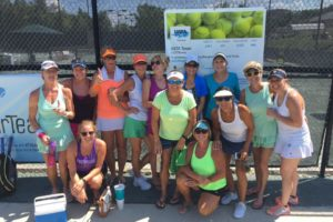 group of women tennis players