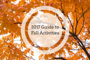 2017 Guide to Fall Activities: Pumpkin Patches, Farms, and Festivals