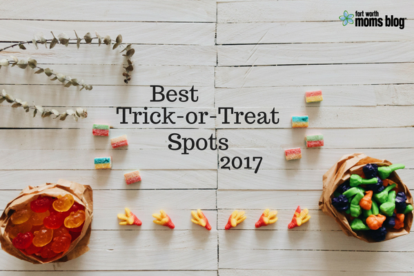 2017 Best Trick or Treat Spots in Tarrant County
