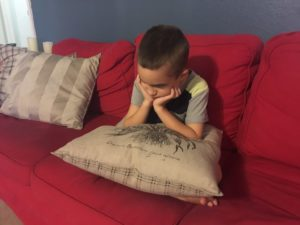 sad boy discipline upset