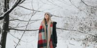 mom in winter